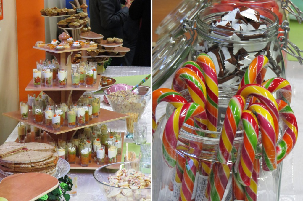 buffet et candy bar