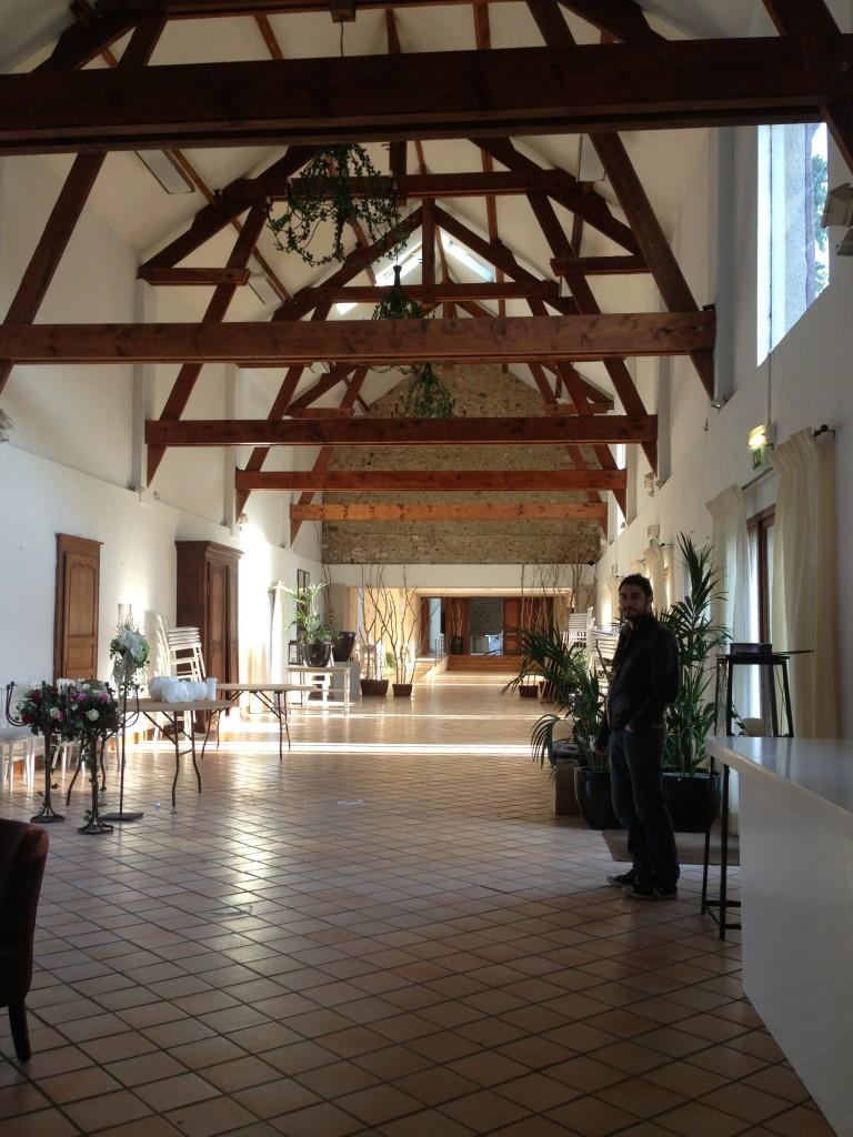 salle de réception mariage ferme