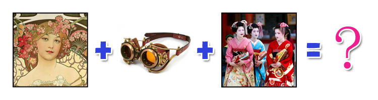 Inspirations future mariée chroniqueuse steampunk