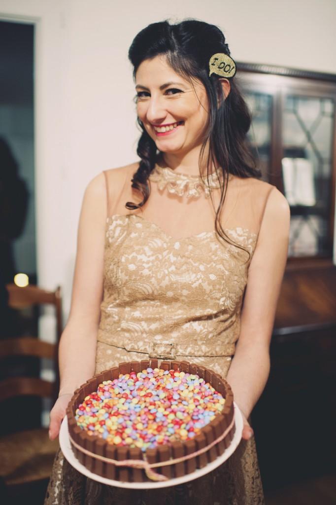 gâteau Smarties Kit Kat
