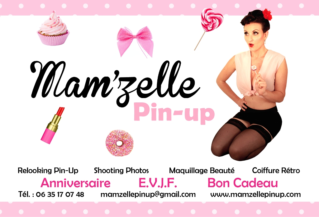 Mam'zelle Pin Up relooking années 50 concours