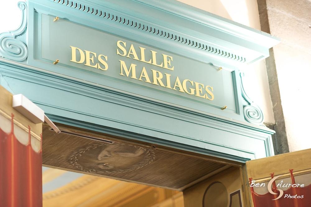 Salle des mariages Ben & Aurore Photos