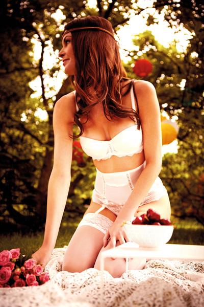 ensemble lingerie mariée Dolce Vita 123 Dessous