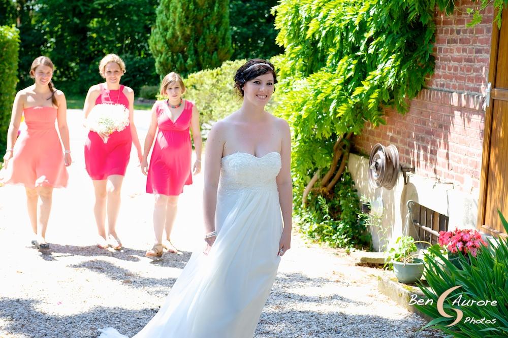 Ma robe de mariée pour la cérémonie laïque