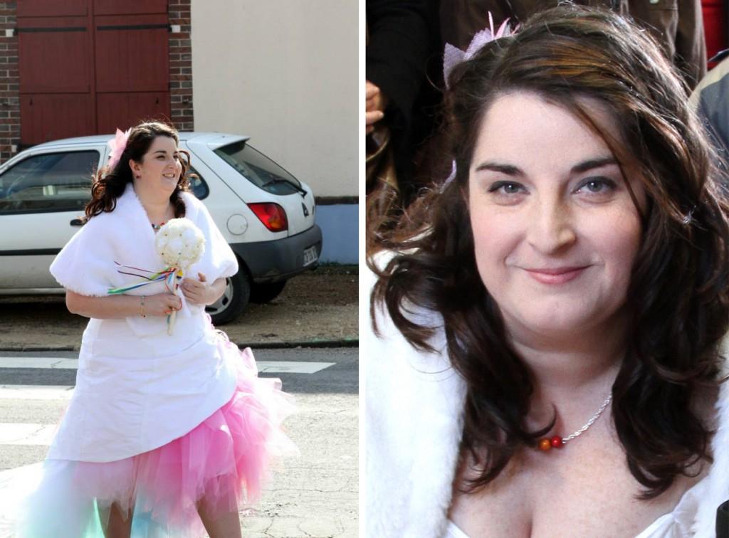 Mon mariage retour en enfance : robe, make-up et coiffure