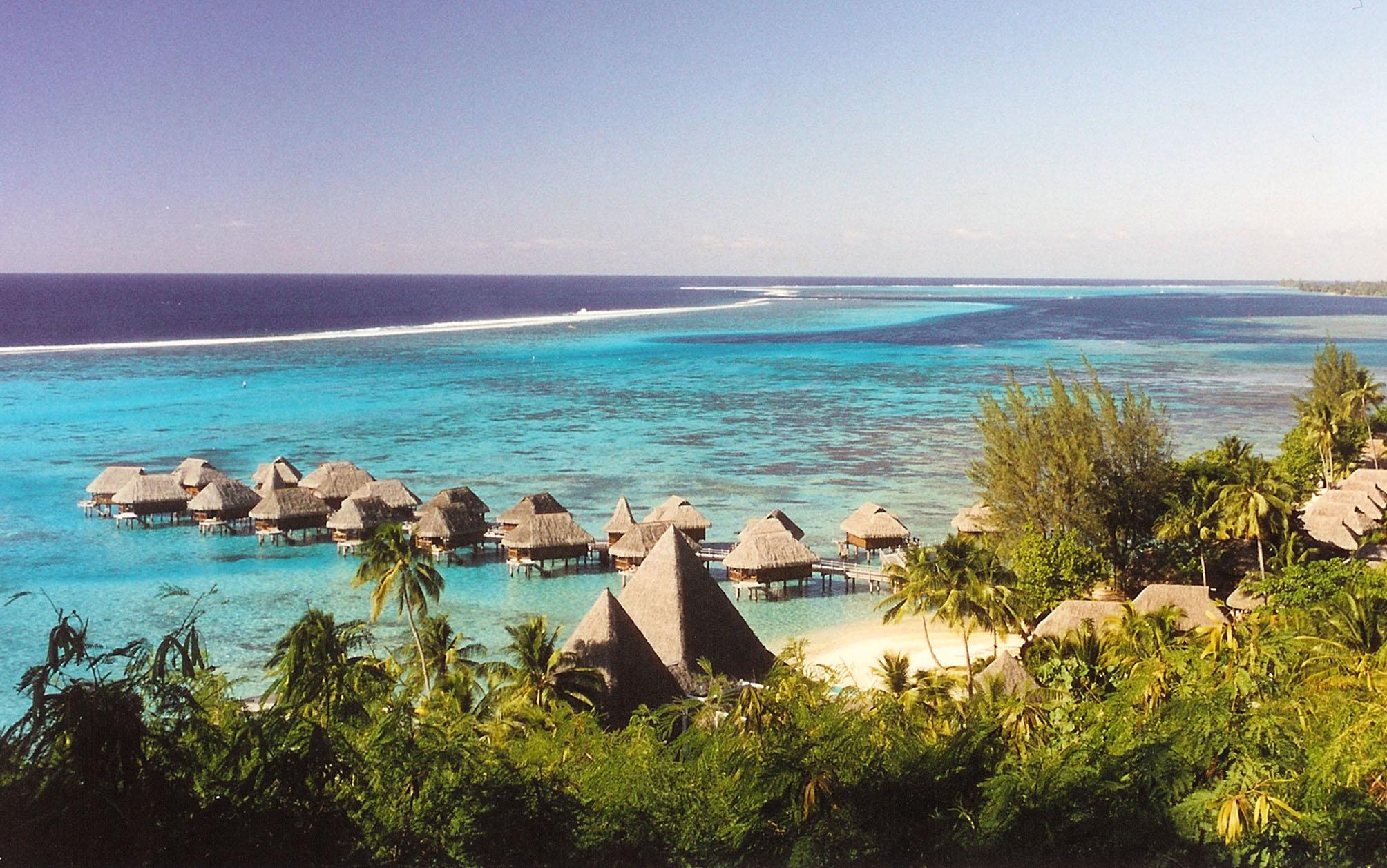 Hôtel pour notre voyage de noces en Polynésie Française