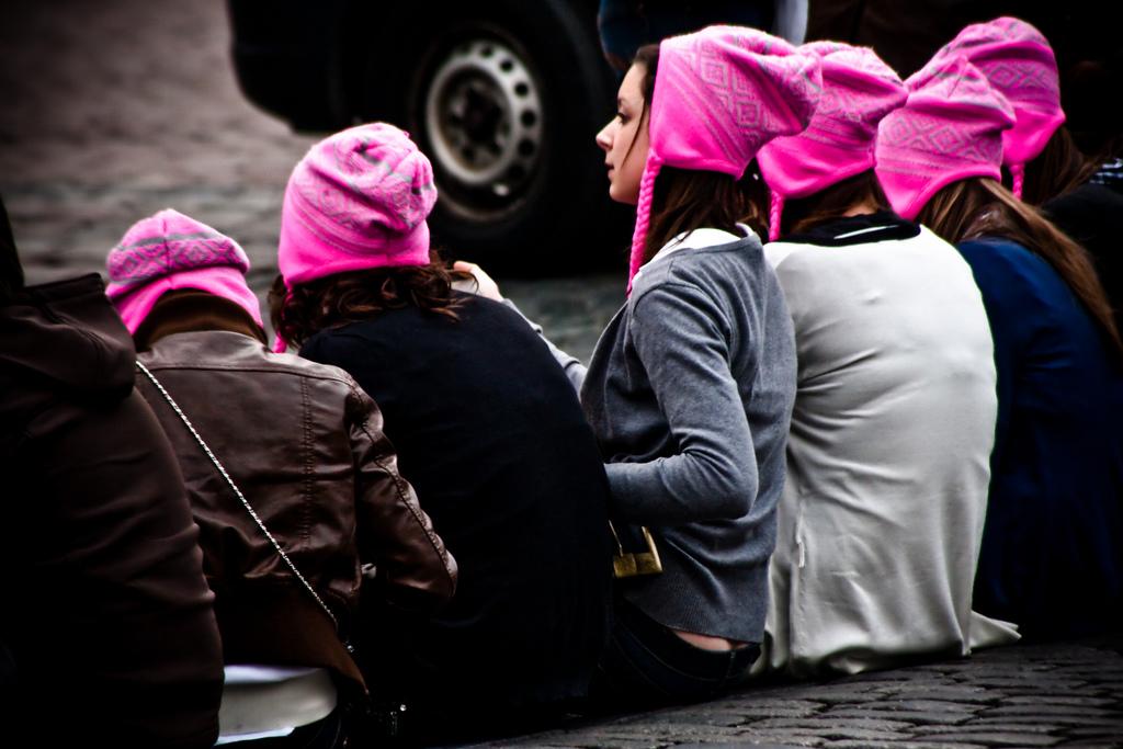 filles aux bonnets roses EVJF