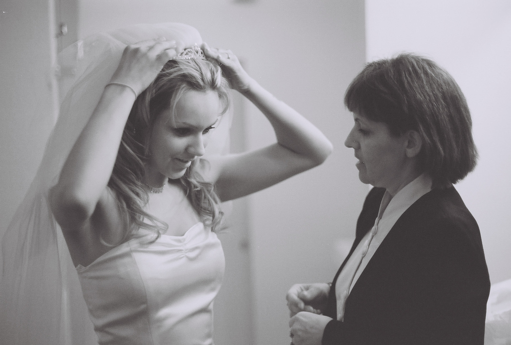 Je vais sans doute devoir me marier sans ma maman