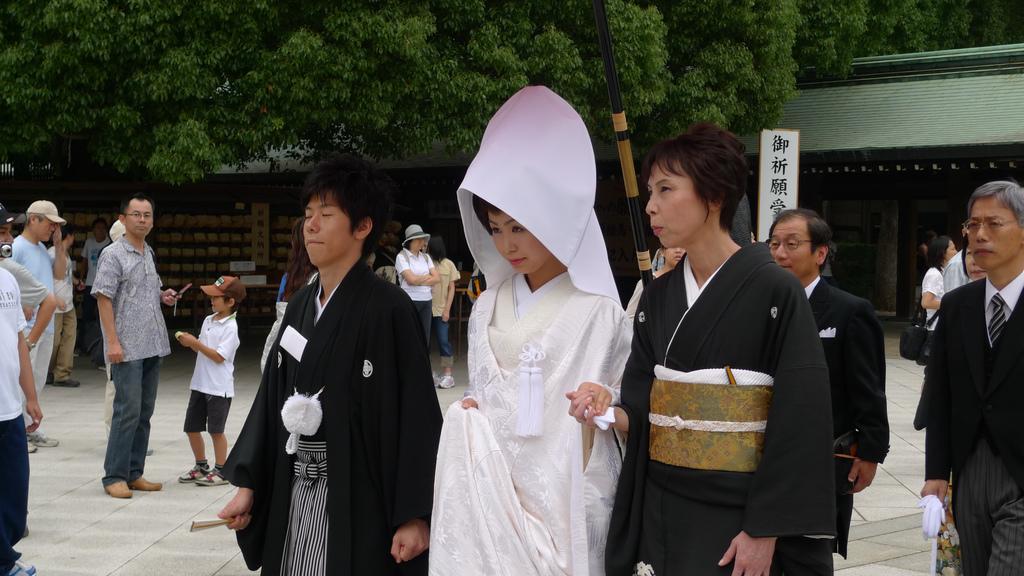 Les traditions du mariage japonais