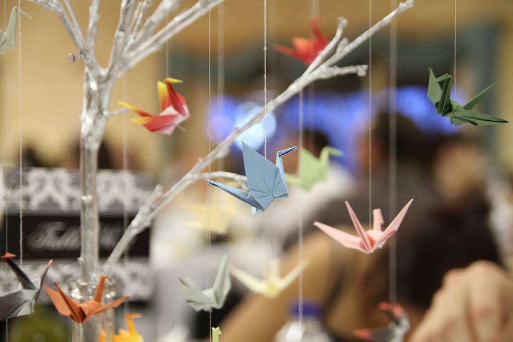 Tutoriel pour réaliser des grues en origami