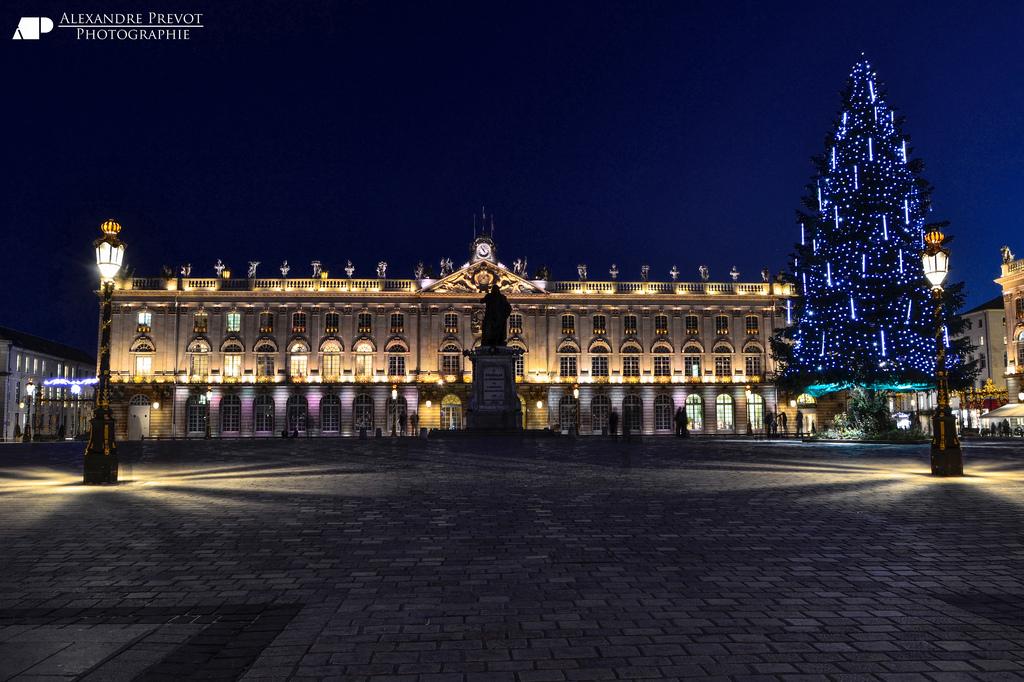 La jolie mairie de Nancy où nous avons vécu...