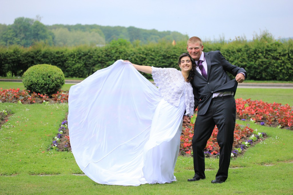 Notre mariage en toute simplicité : le début du jour J