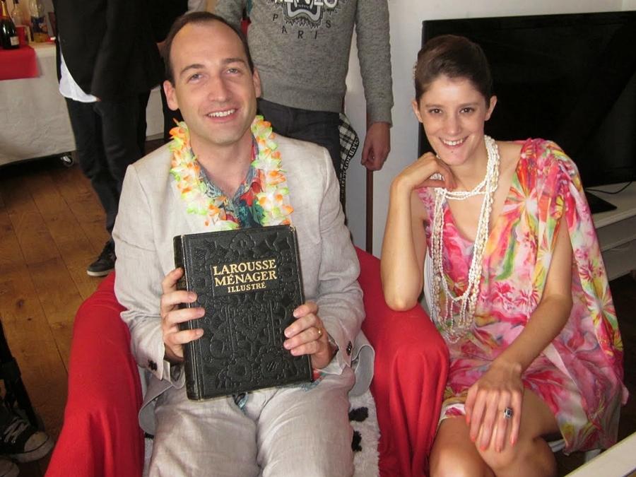 Notre mariage civil au thème hawaïen !