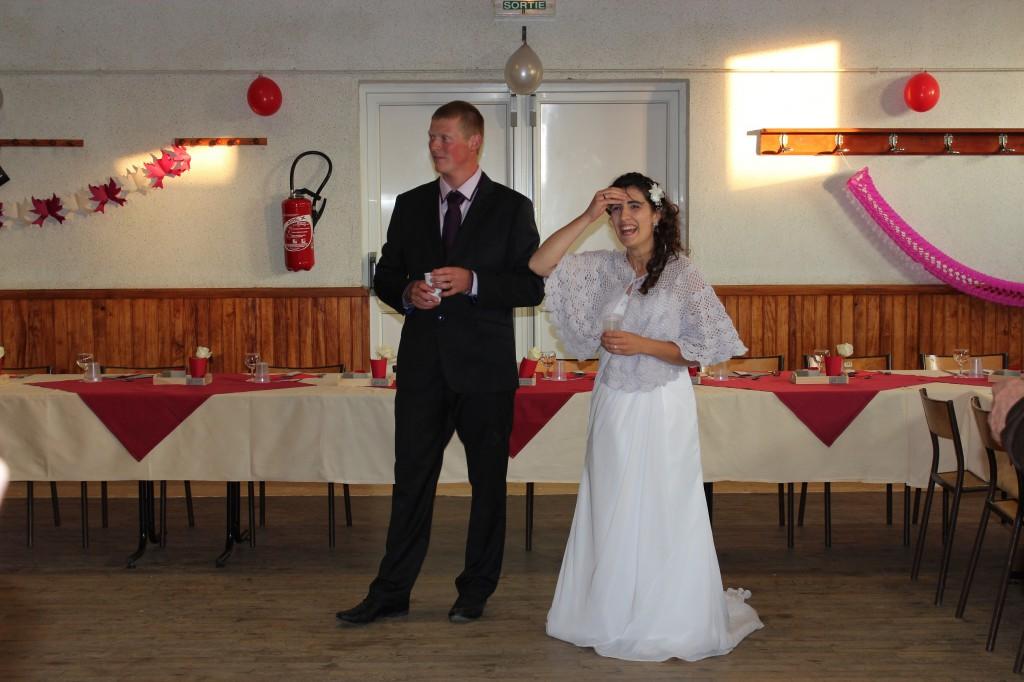 Notre mariage en toute simplicité : la soirée