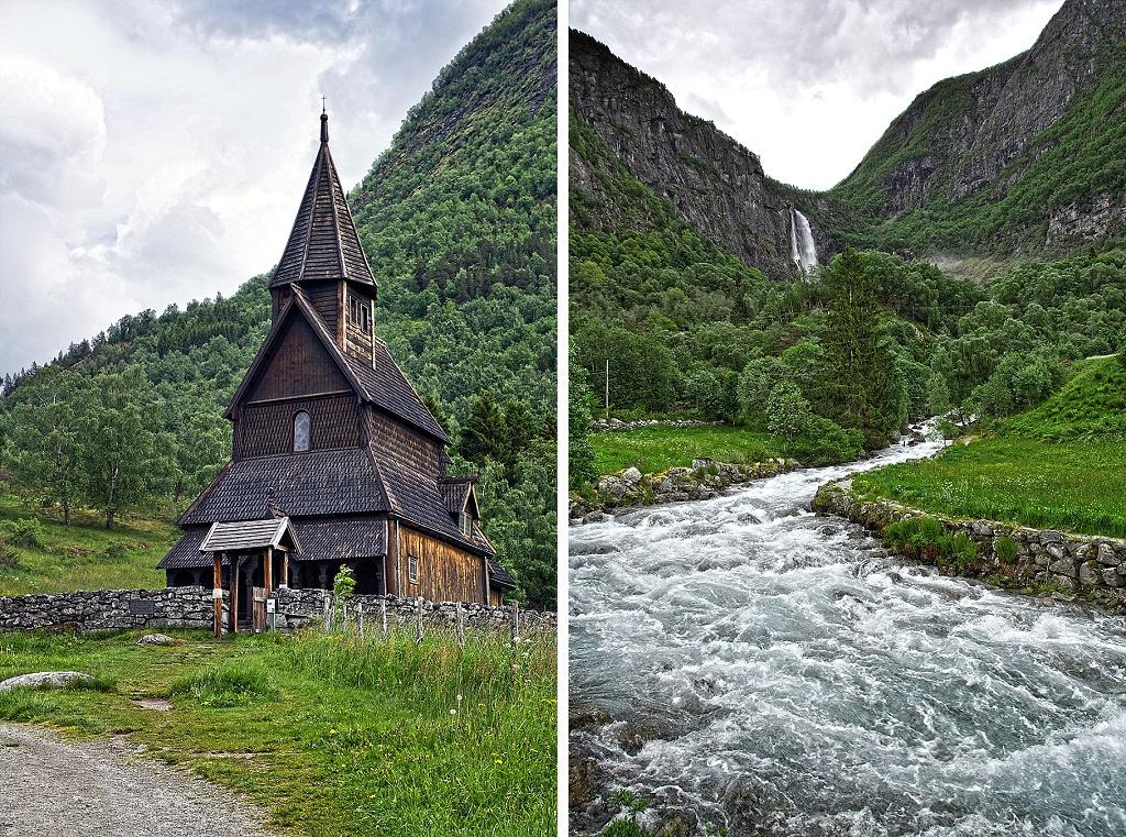 Urnes stavkirke - Feigefossen