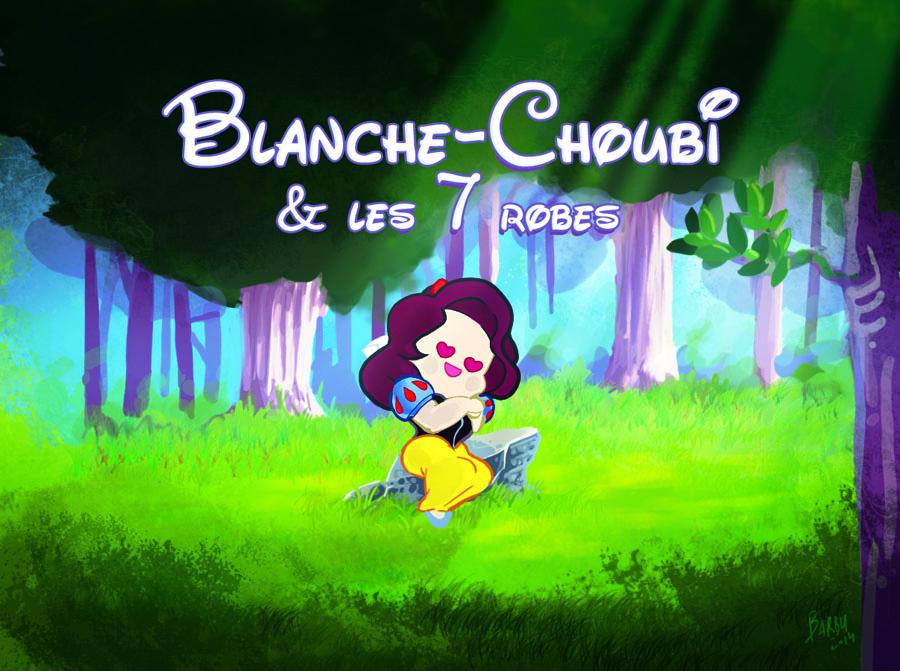 Blanche-Choubi et les 7 robes