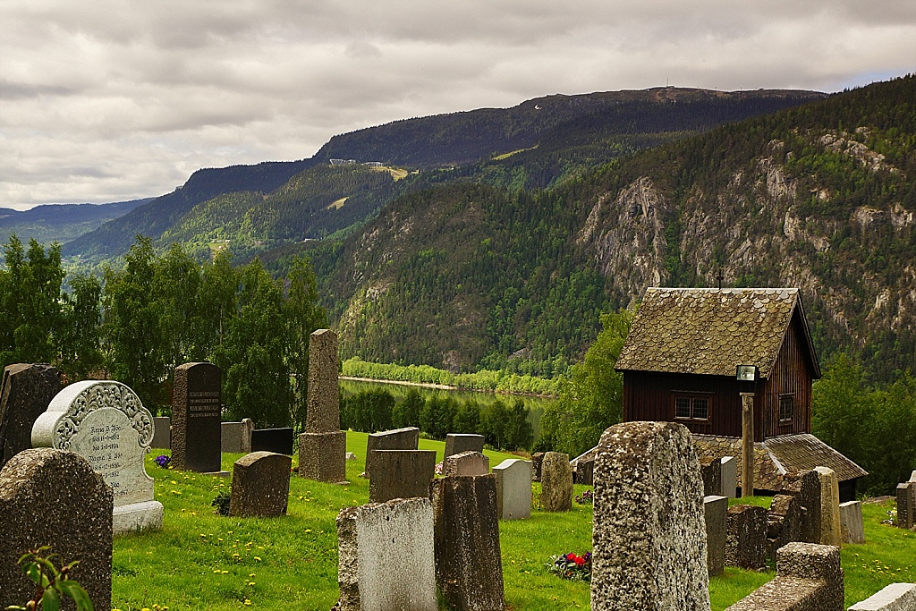cimetière stavkirke Ringebu