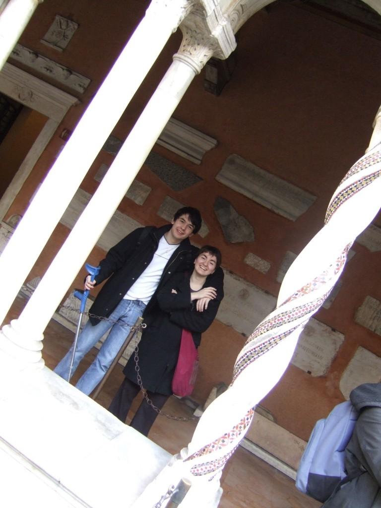 M. Salé et Mlle Sucrée à Rome