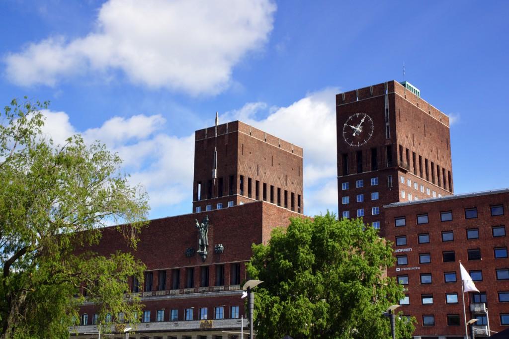 hôtel de ville Oslo