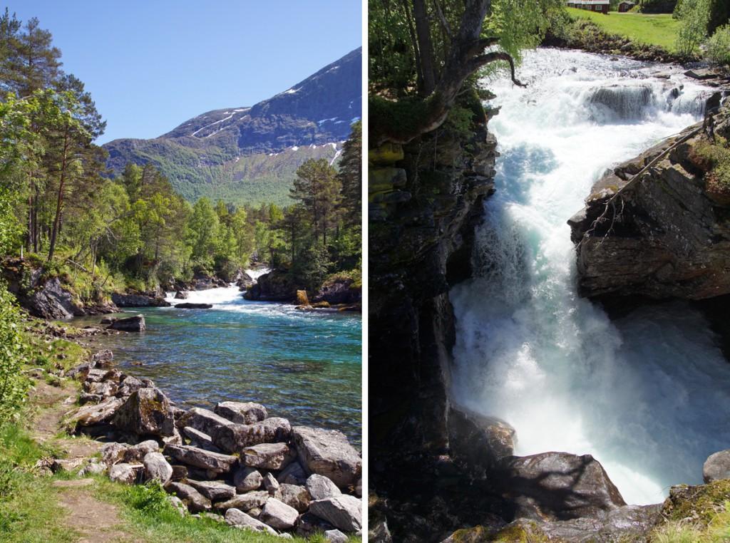 rivière Norvège route 63