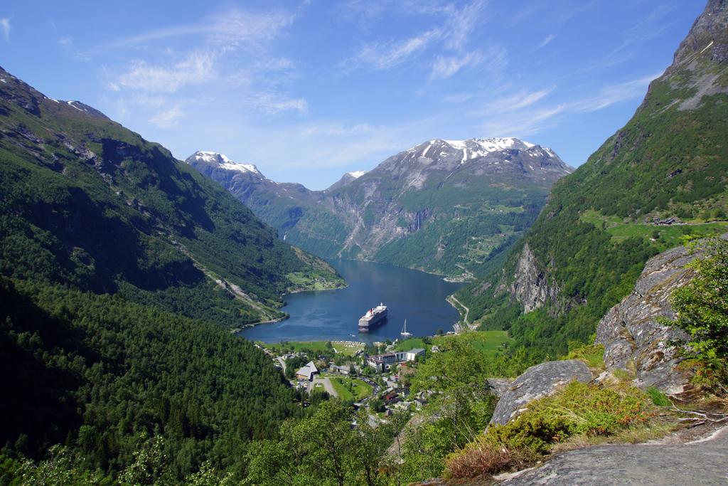 vue sur le Geirangerfjord
