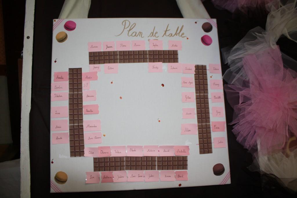 Plan de table Mme Douceur 2