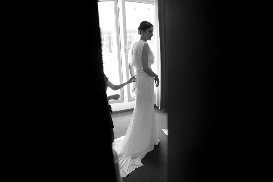 Mon mariage traditionnel à paillette : la mariée se prépare
