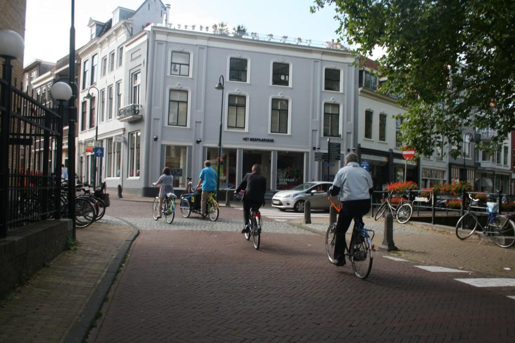 Mon mariage civil aux Pays-Bas : le cortège de vélos