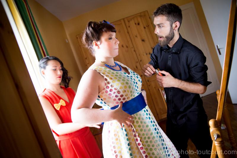 Mon mariage coloré avec le sourire : les préparatifs