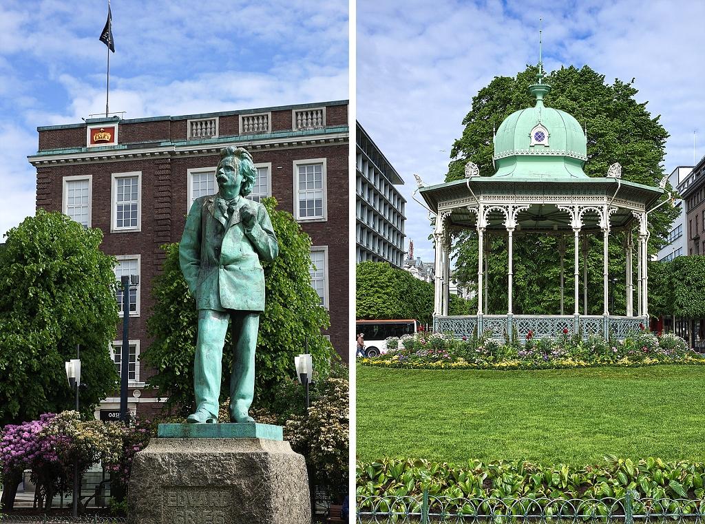centre-ville de Bergen