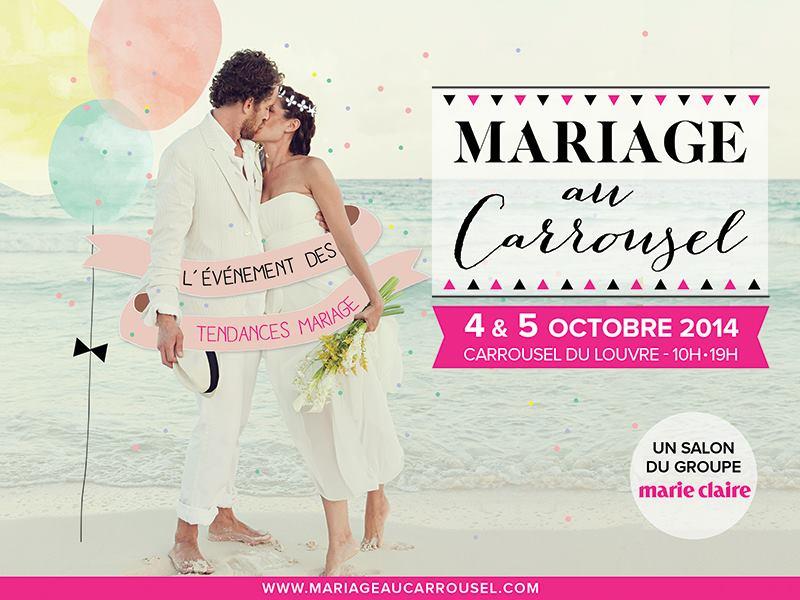 Gagne ton entrée au Salon du mariage au Carrousel du Louvre et un atelier avec Mlle Dentelle !
