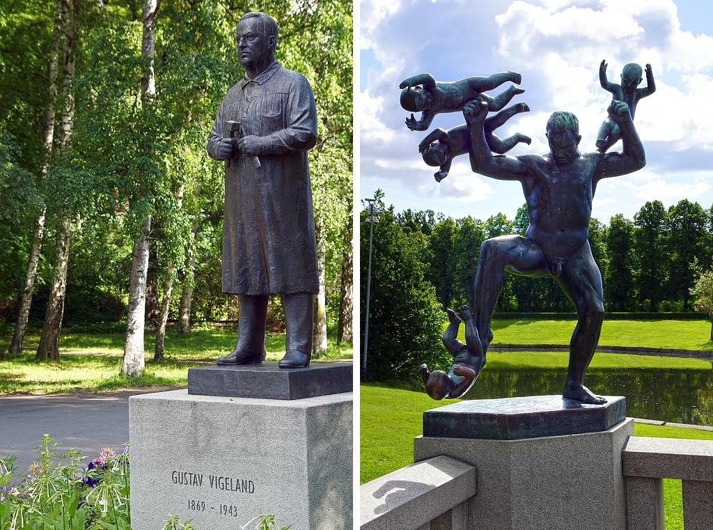 sculptures du parc Vigeland