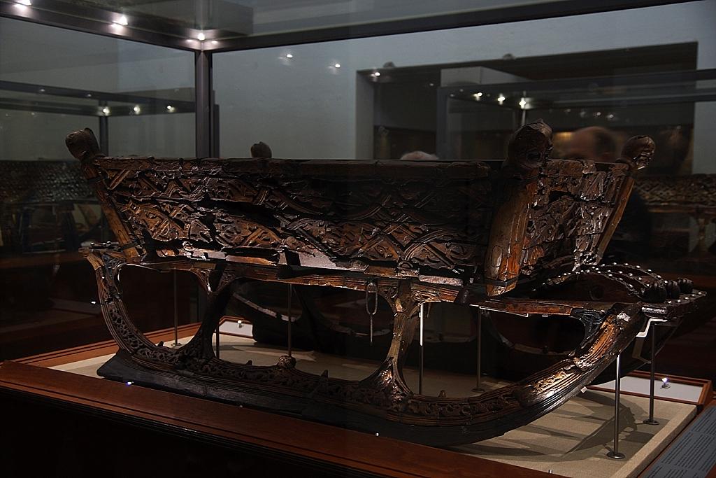 traîneau au musée des bateaux vikings