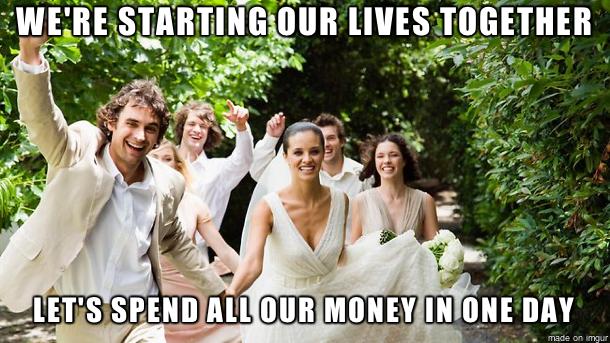 On commence notre vie à deux ! Dépensons tout notre argent en une seule journée !