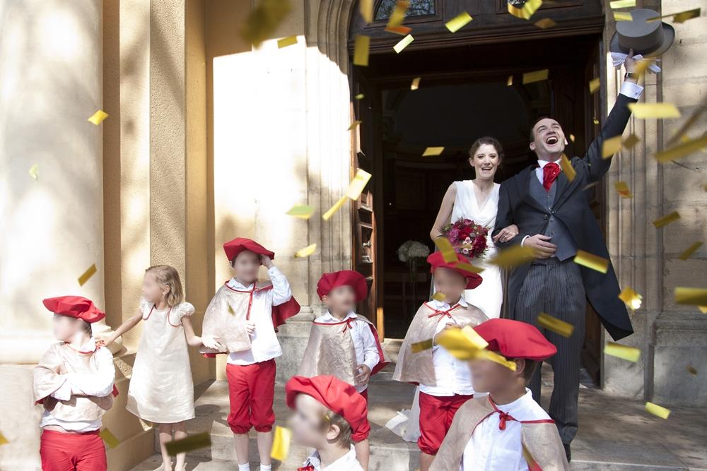 Mon mariage traditionnel à paillette : notre messe de mariage