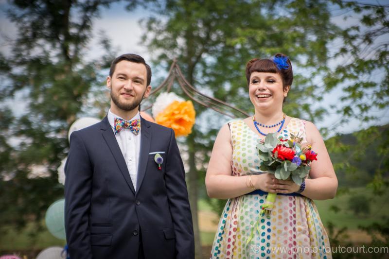 Mon mariage coloré avec le sourire : la cérémonie laïque, côté émotion