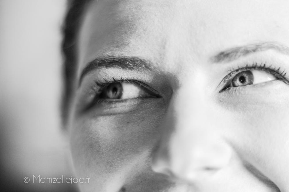 les yeux de la mariée