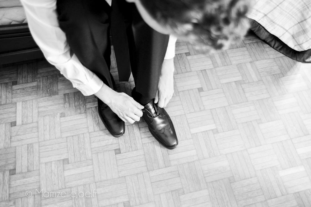 les chaussures du marié