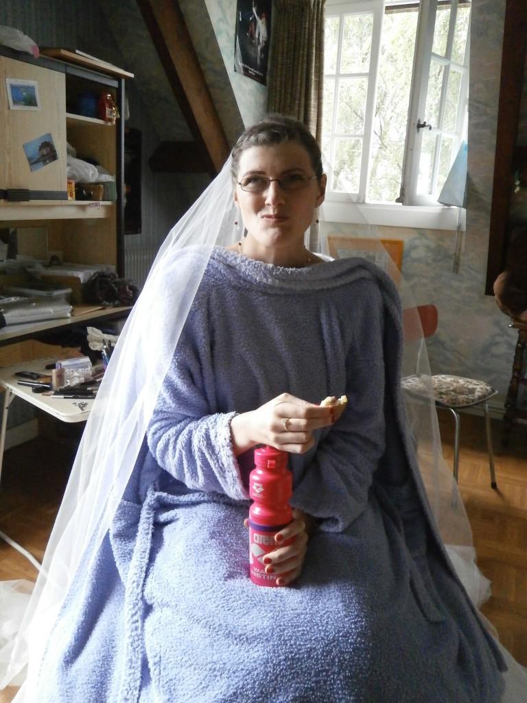 protéger sa robe de mariée des tâches
