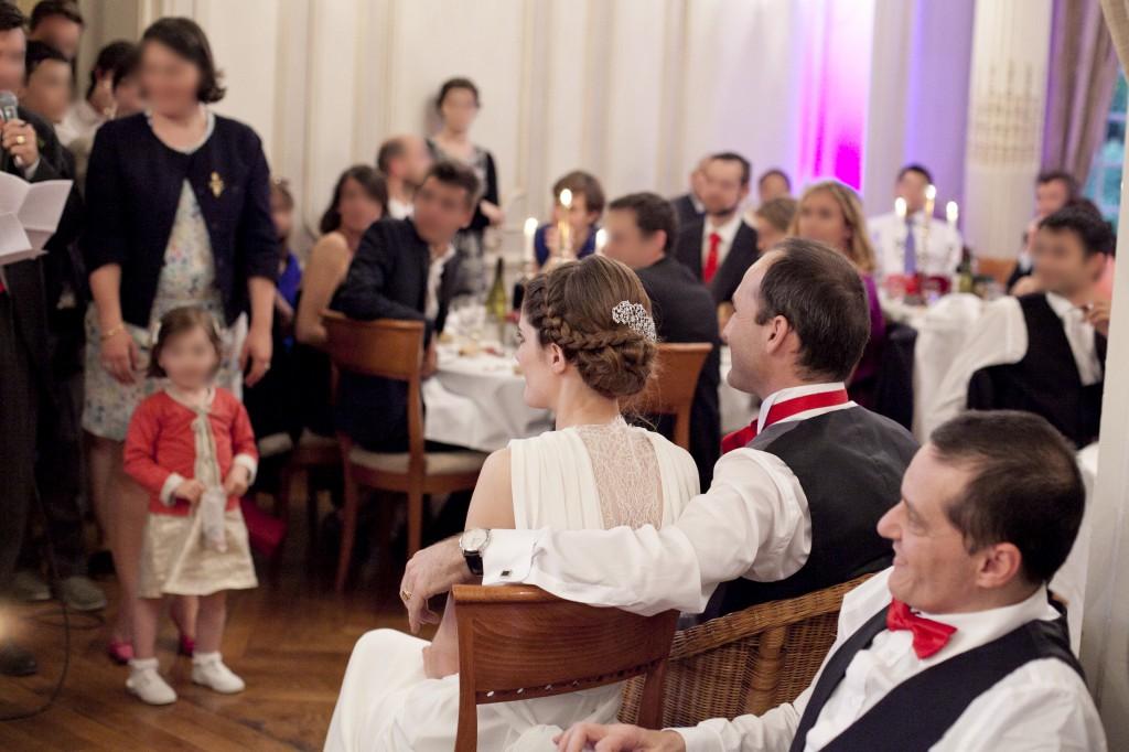 discours des proches aux mariés