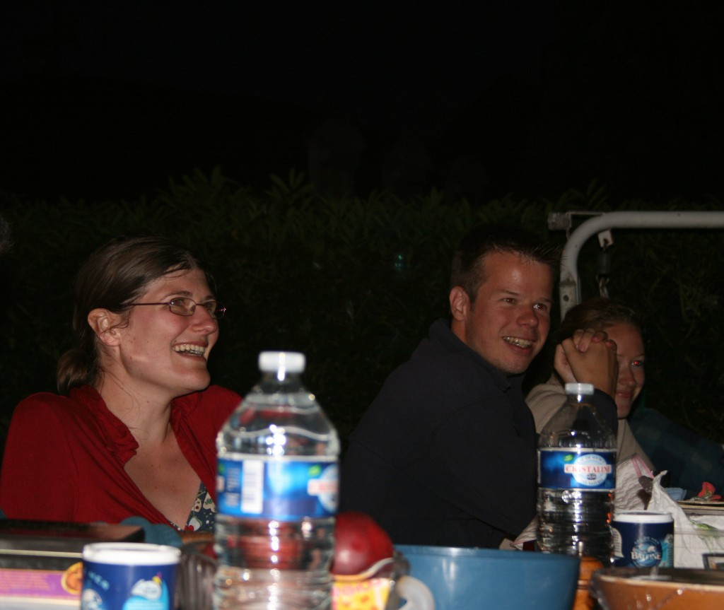 dernier diner avant le mariage