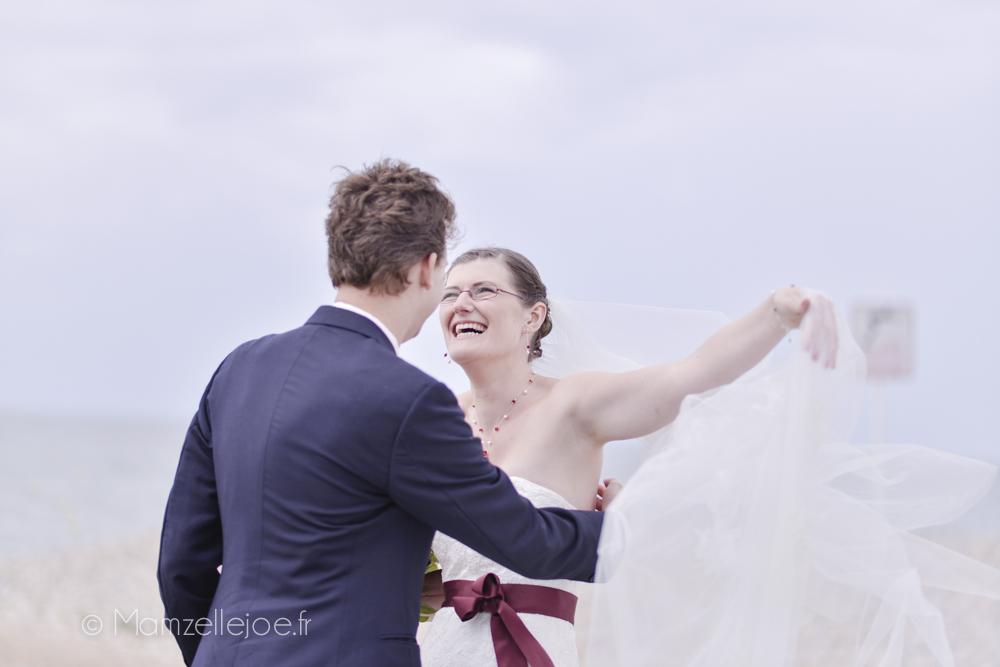 juste heureux de se marier
