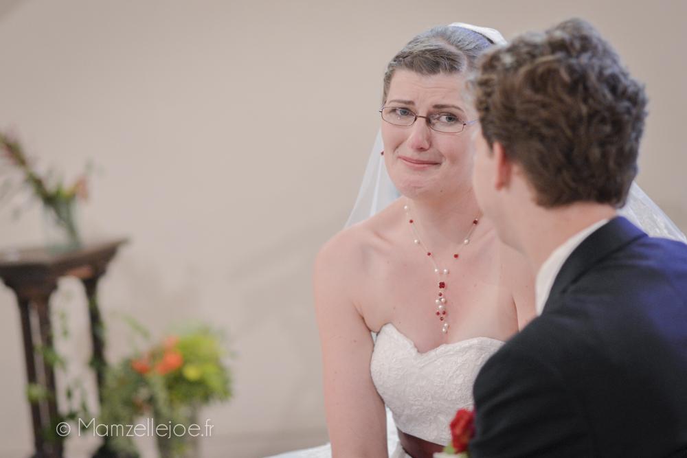 les pleurs de la mariée