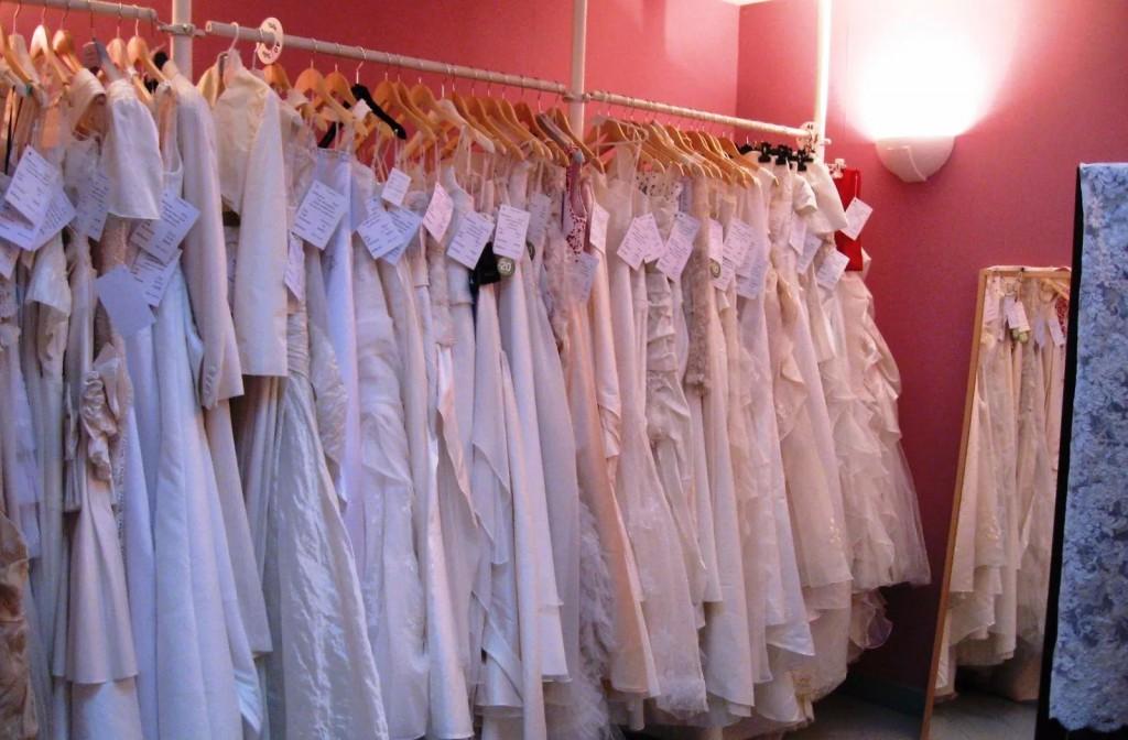 robes de mariée d'occasion