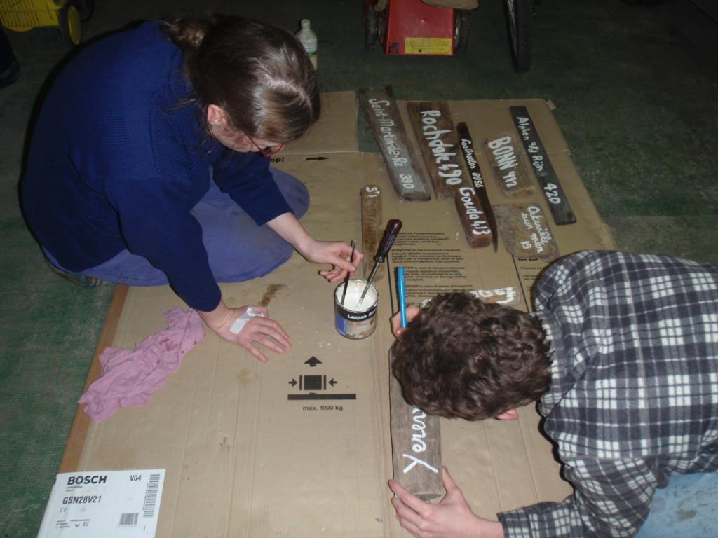 décoration panneaux indicatifs