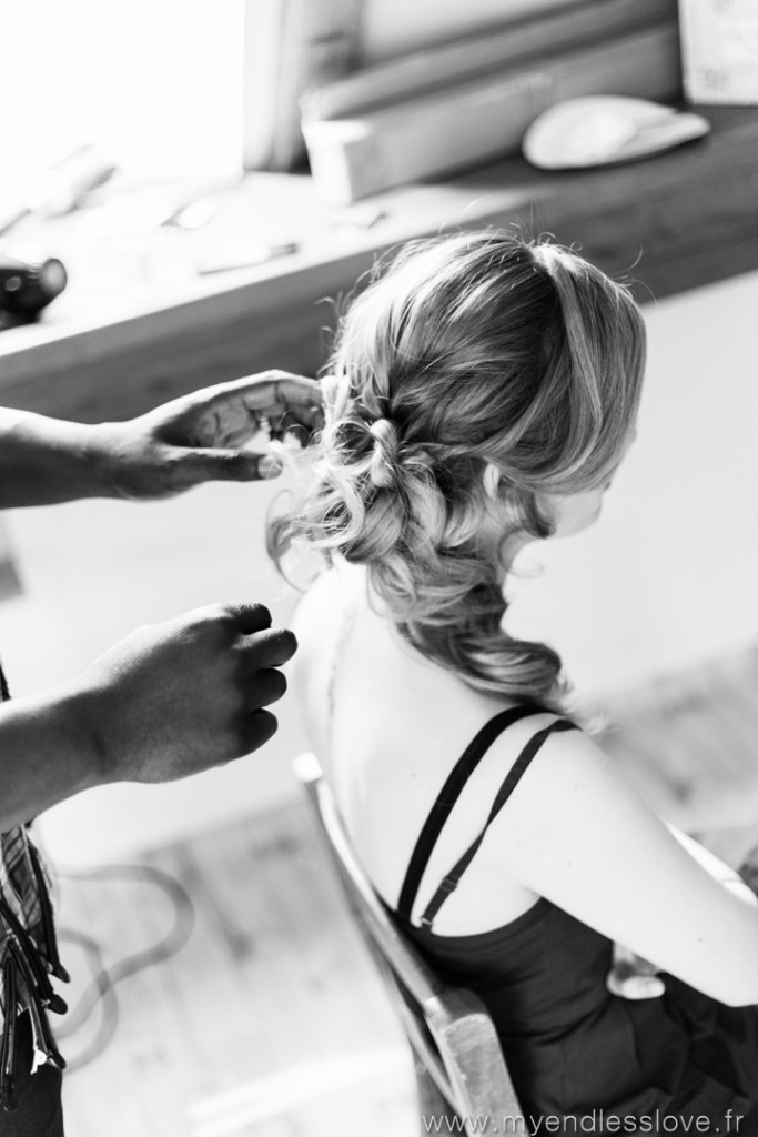 La mise en beauté du jour avec la coiffure // Photo : My Endless Love Photography