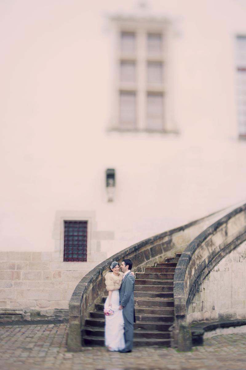 mariés Château des Ducs de Bretagne