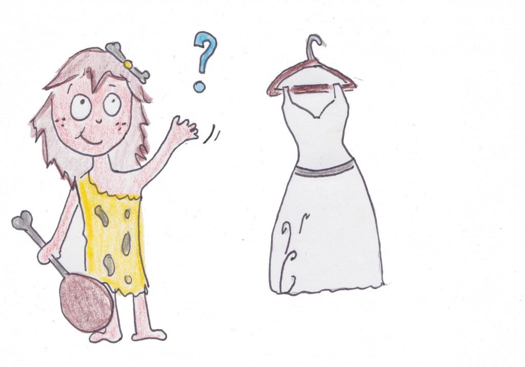 femme sauvage et robe