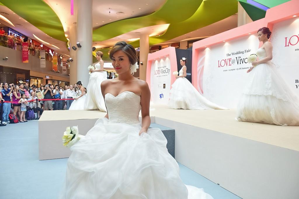 défilé robes de mariée