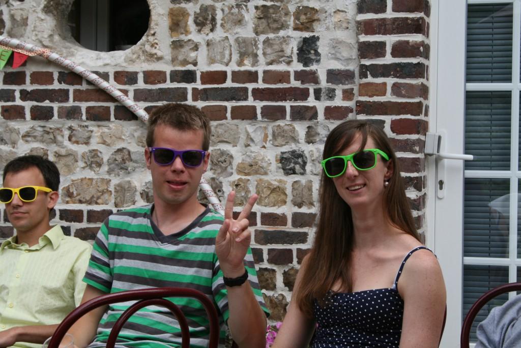 lunettes de soleil lendemain de fête